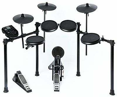 Alesis DM6 Nitro Kit 8 Piece Electronic Drum Snare Cymbal Hi Hat Pedal Kit New /