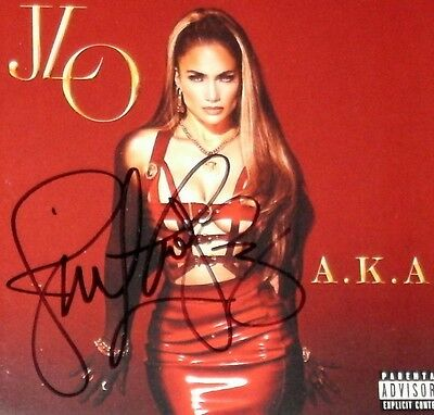 JENNIFER LOPEZ A.K.A. 2014 Deluxe Edition CD Autographed SIGNED!!