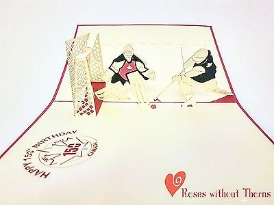 Hockey: Canada 150 collectible limited edition pop-up greeting card