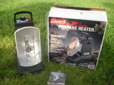 Coleman Focus 5 Propane Radiant Heater Electronic Ignition