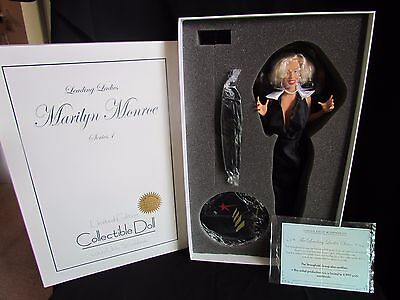 Marilyn Monroe 50th Anniversary Doll Stronghold Figurine Gentlemen Prefer Blonds