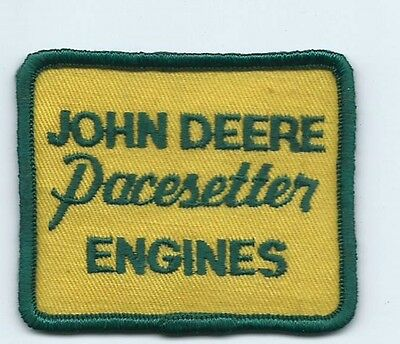 John Deere Pacesetter Engines dealer/employee patch 2-3/8 X 2-3/4