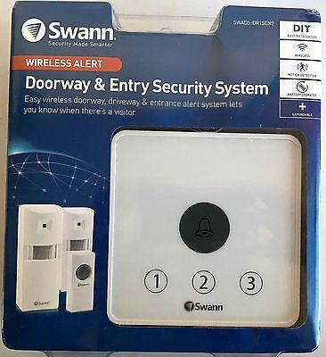 GENUINE Swann Door Bell With Alarm & Sensors High Quality FreeSuperfast Delivery
