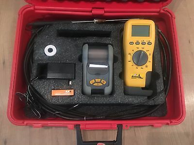 Used UEI Eagle C75 Combustion/Analyzer Kit with Printer & Probe