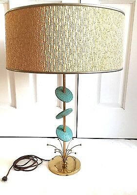 Vintage Mid Century Modern Atomic Rembrandt Lamp Retro Eames Knoll