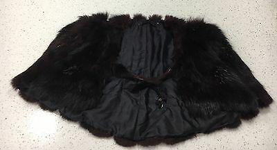 Vintage Fur Cape/stole Great Condition One Size