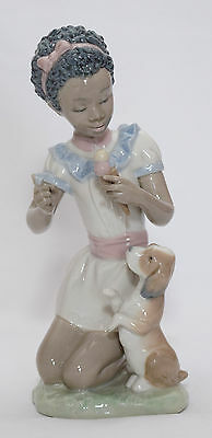 lladro 'Sharing Sweets' 5836.. Black Legacy 7 ""