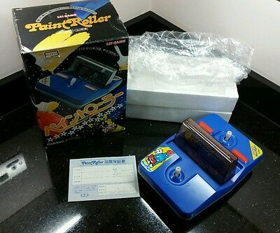 Paint Roller 80s Retro Gakken LSI Game Tabletop Game Boxed Great Condition