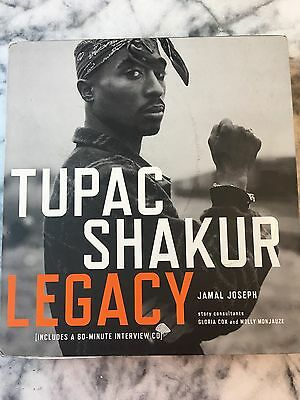 2006 Tupac Shakur Legacy Hardcover Book w/ Slipcase Collectors Hip Hop Legend