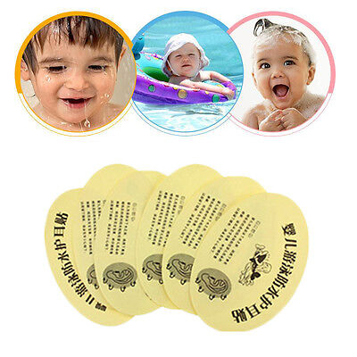 100Pcs Waterproof Baby Ear Stickers Bathing Swimming Infant Shower Safety Health