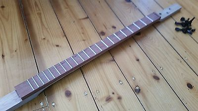 cigar box guitar- Neck - hand crafted by salty dog CBG