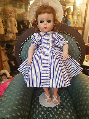 Gorgeous early vintage Lissy Doll in rare Striped outfit by Madame Alexander