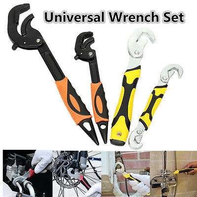 Multifunctional Universal Quick Snap & Grip Adjustable Wrench Spanner Tools Set