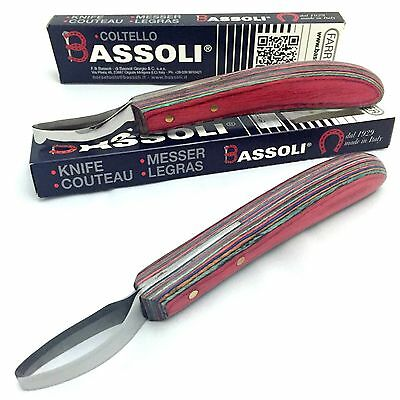 Bassoli Becca Knife | Loop Blade | Long Handle | Hoof Care | Farrier | Vet