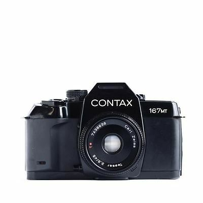 Contax 167MT 35mm SLR camera, with Carl Zeiss 45mm Tessar f2.8 lens