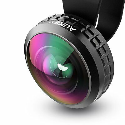 AUKEY Optic Pro iPhone Lens 0.2x 238°  Clip on Cell Phone Camera Lenses