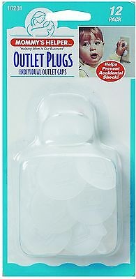 Mommy's Helper Outlet Plugs 12 PackOutlet Plug Safety Cover Electric Baby Child
