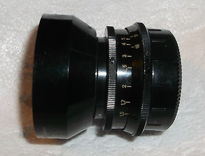 M42 INDUSTAR-50-2 50mm f3.5 Suit Canon Sony 4/3 etc w. Adaptor