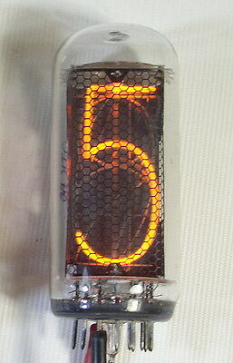 Lot of 1 pcs or More IN-18 Large Nixie Tubes for Clock New 100% Tested