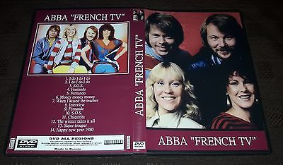 ABBA - French TV Performances DVD SPECIAL FAN EDITION