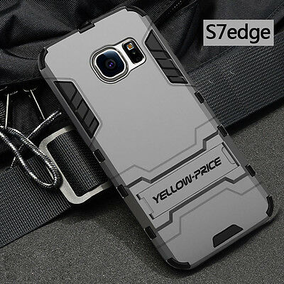 [Military Grade]Shockproof Dual Layer Defender Cover Case For Galaxy S7/S6 Edge+