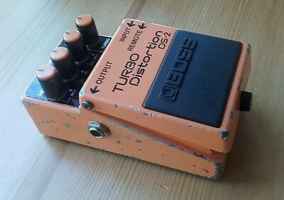 Boss DS2 Japan 1988 Turbo Distortion guitar effects pedal Vintage MIJ