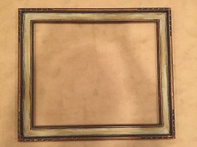 Antique 30x25 Arts & Crafts Newcomb Macklin Style Picture Frame Modernist
