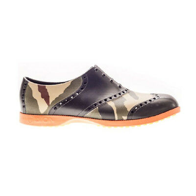 NEW Biion Oxford Men's Golf Shoes - Patterns Camo [Size: 9 US]