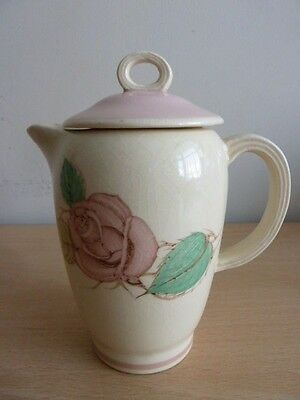 Susie Cooper Hot Water Pot - Pink Patricia Rose