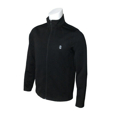 NEW IZOD Long Game Knit Jacket - Black [Size: X Large]