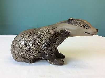 Poole Pottery Stoneware Badger