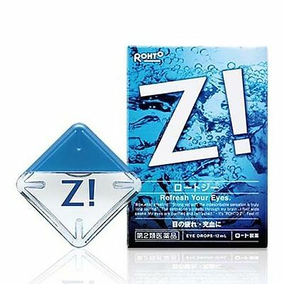 Japan Rohto Z! b Eye Drops 12ml Super Cool Refreshing 日本樂敦勁(Rohto Z!)眼藥水 ロートジー b