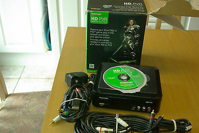Hauppauge Hd Pvr High Definition Video Recorder Gaming Edition with disc.