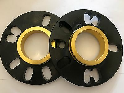 4 X 5mm BLACK BIMECC HUB CENTRIC 54.1 ALLOY WHEEL SPACER FOR TOYOTA 4X100 5X100 Vehicle Parts & Accessories Nuts, Bolts & Studs