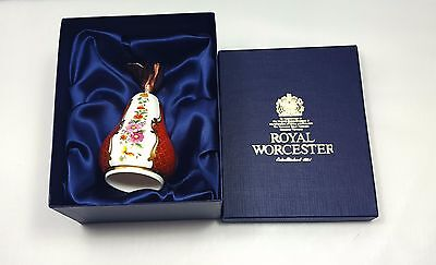 Royal Worcester Candle Snuffer Connoisseur Collection Pear