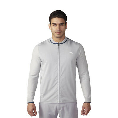 NEW Adidas Range Hybrid Sweater Jacket - Stone [Size: Large]