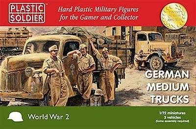 1/72nd German medium trucks PSC-WW2V20020 Plastic Soldier Company New in Box