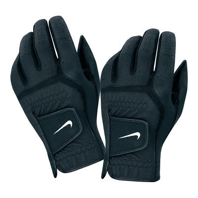 NEW Nike Dura Feel Golf Glove - Blk/Wht [Hand: Men's Left Hand] [Size: Medium]