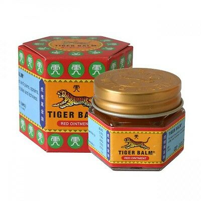 Tiger Balm Red Herbal Rub Muscles Pain Relief Headache 19.4 g.