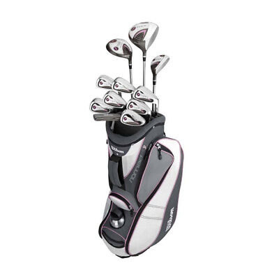 NEW WilsonWilson Hope Ladies Platinum Package [Hand: Ladies Right Hand] [Flex: L
