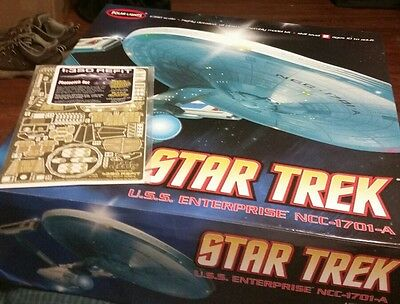Polar Lights STAR TREK ENTERPRISE Model 1/350 + photoetch set + aztec decal set