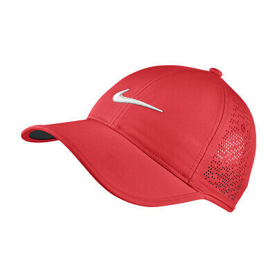 NEW Nike Ladies Perf Cap -  Crimson