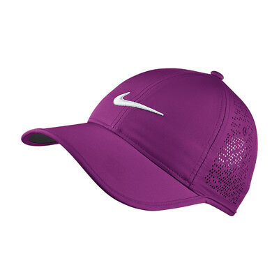 NEW Nike Ladies Perf Cap -  Cosmic Purple