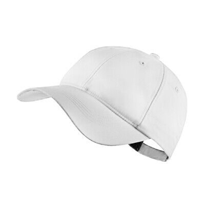 NEW Nike Ladies Tech Cap - White