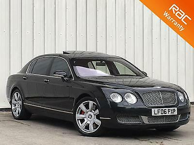 Bentley Continental Flying spur  6.0 V12 auto 2006 Flying Spur In Diamond black