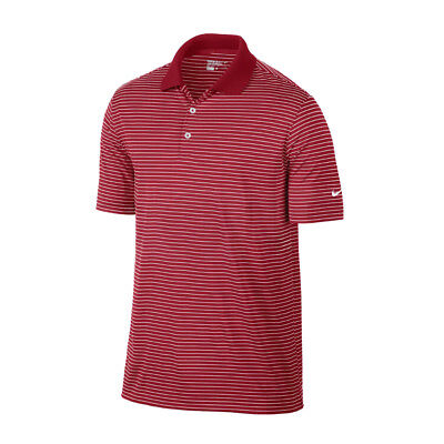 NEW Nike Victory Stripe Polo LC - Varsity Red [Size: Small]