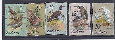 F279: Barbados 1983 Birds Small Assortment Used