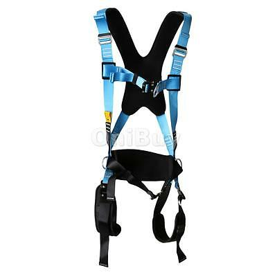 Adult Full Body Safety Fall Protection Harness Rock Climbing Caving Rescue