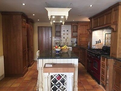 Complete Kitchen - Solid Oak with Granite Worktops
