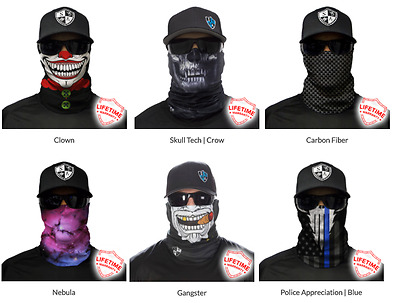 Face shield SA fishing company  / braga / bandana